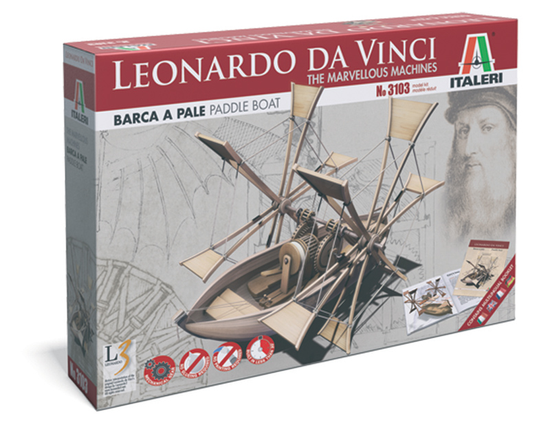 Модель Самоходная лодка Леонарда