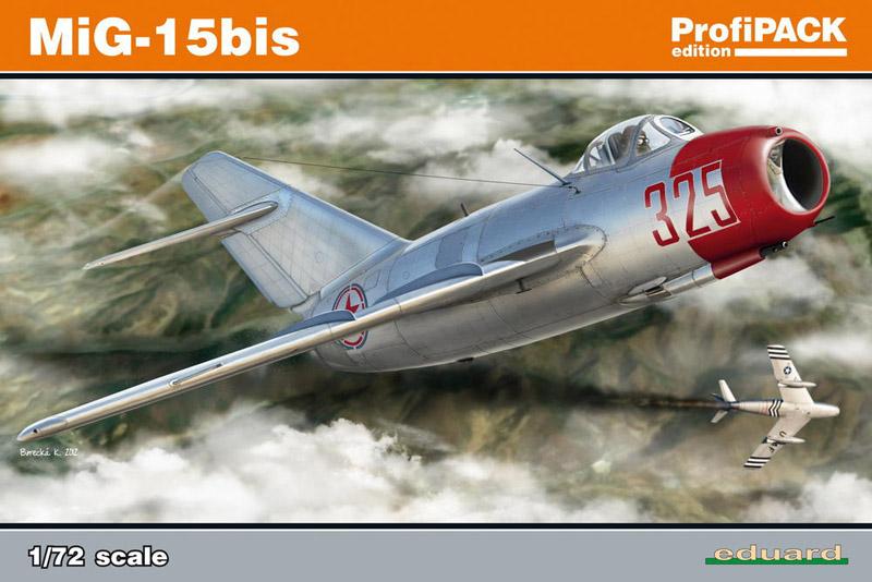 Сборная модель Самолет MiG-15bis