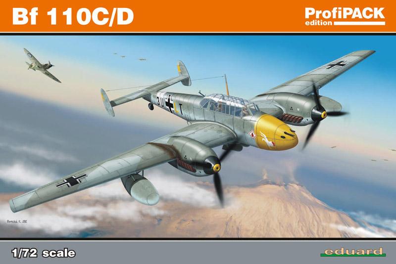 Самолет Bf 110C/D
