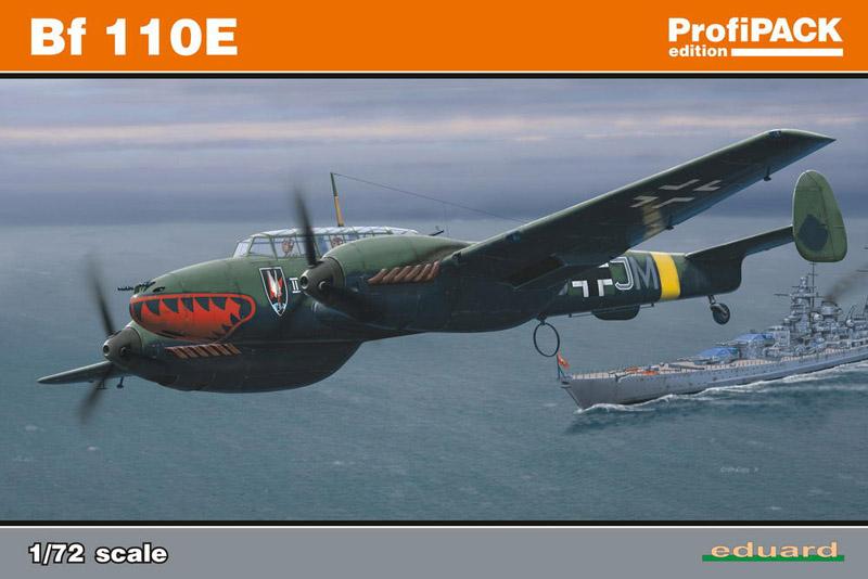 Модель Самолет Bf 110E ProfiPACK