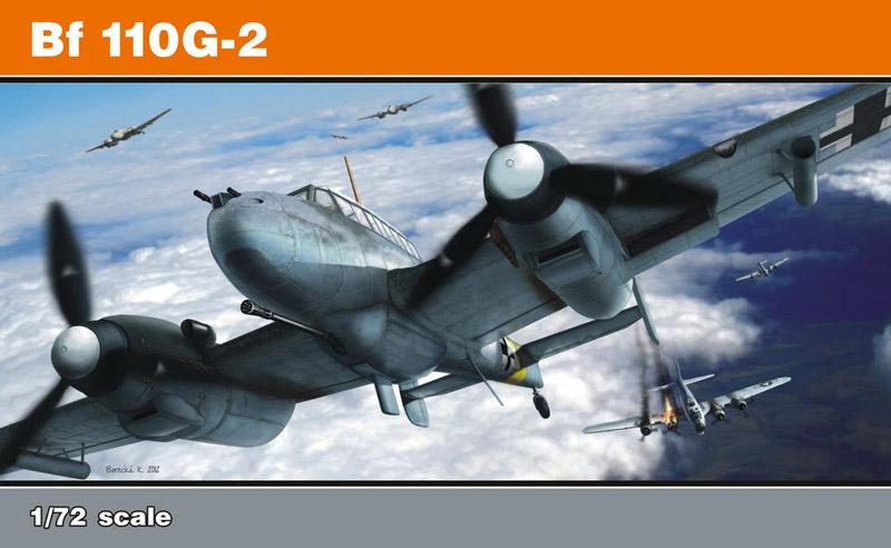 Сборная модель Самолет Bf 110G-2