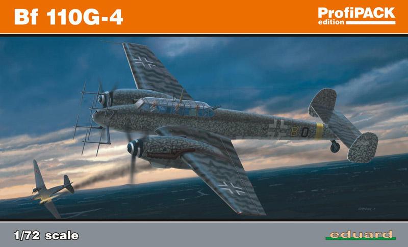 Сборная модель Самолет Bf 110G-4 ProfiPack