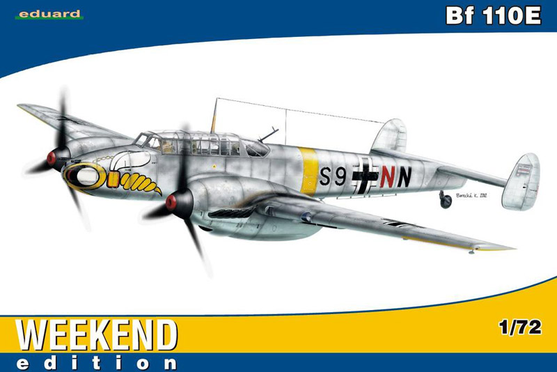Сборная модель Самолет Bf 110E