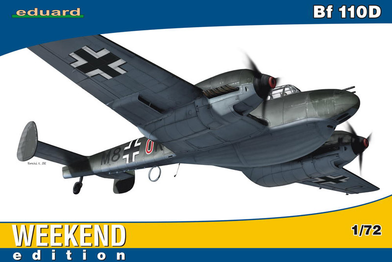 Модель Самолет Bf 110D