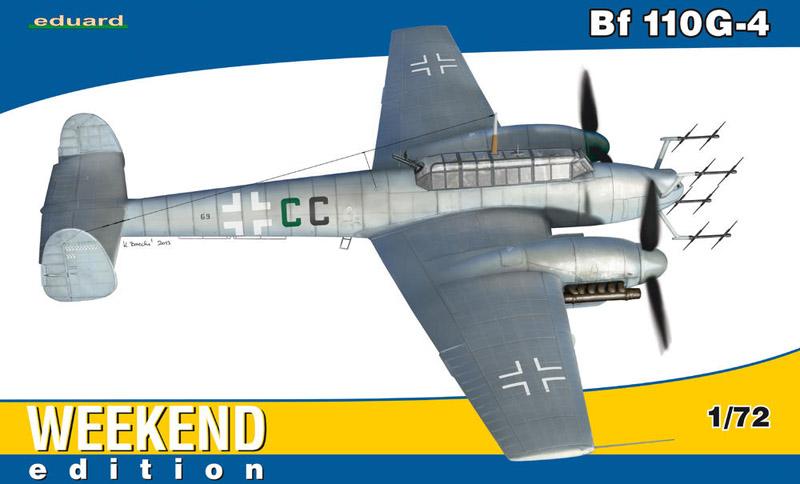 Сборная модель Самолет Bf 110G-4