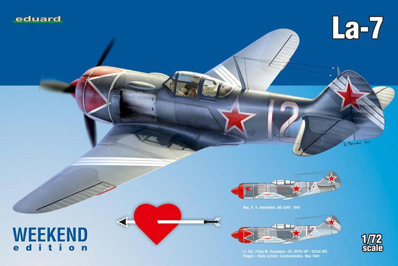 Модель Самолет La-7