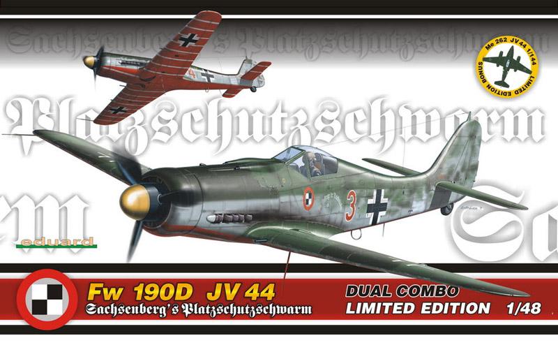 Модель Самолеты Fw 190D JV 44  Dual Combo (Limited edition)