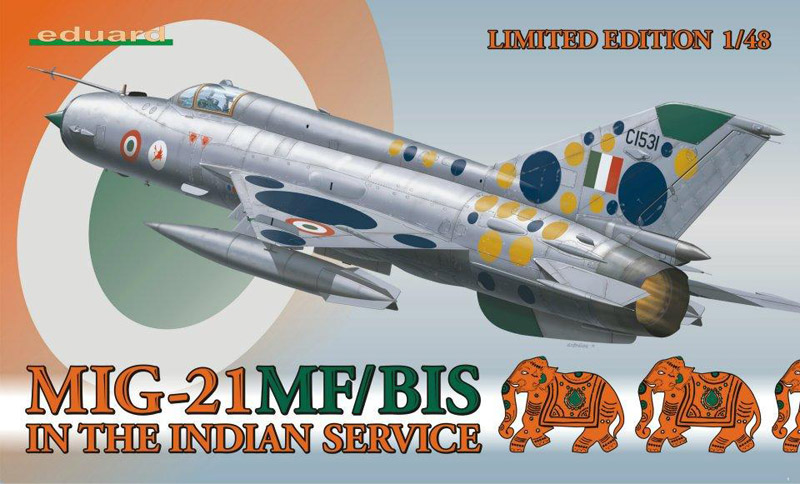 Модель Самолет MiG-21MF/BIS in the Indian service