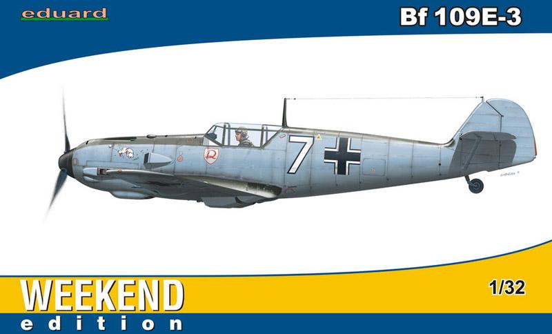 Сборная модель Самолет Bf 109E-3