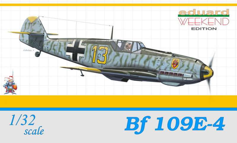 Сборная модель Самолет Bf 109E-4