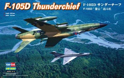 Самолет  F-105D Thunderchief