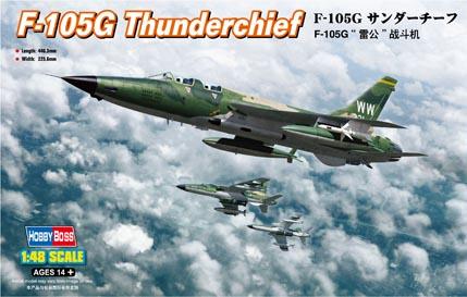 Модель Самолет F-105G Thunderchief