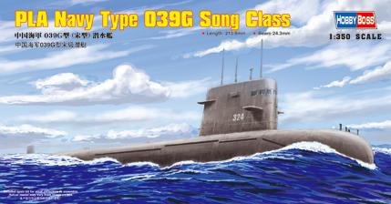 Сборная модель Подводная лодка PLA Navy Type 039 Song class SSG