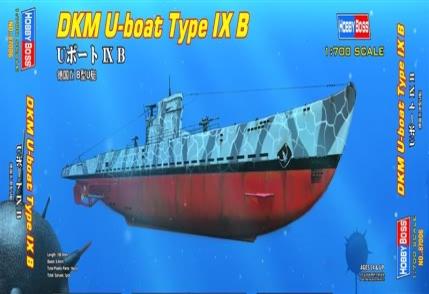 Сборная модель Немецкая подлодка DKM U-boat Type B