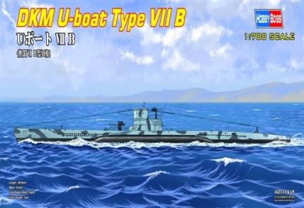 Сборная модель Немецкая подлодка U-boat Type