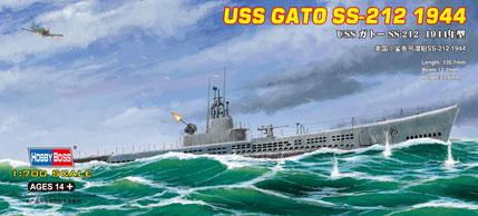 Сборная модель Подлодка USS Gato SS-212 1944