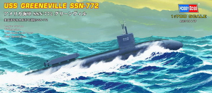 Подлодка USS Navy Greeneville submarine SSN-772