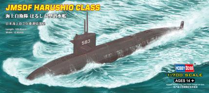 Сборная модель Подлодка JMSDF Harushio Class submarine