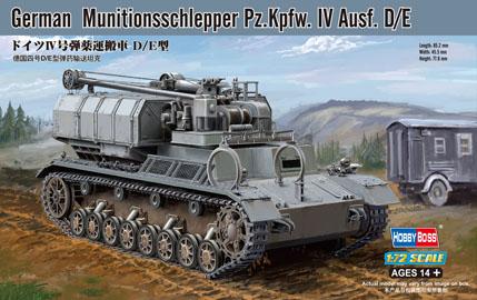 Немецкий танк Pz.Kpfw.IV Ausf.D/E