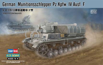Модель Немецкий танк Munitionsschlepper Pz.Kpfw. IV Ausf. F