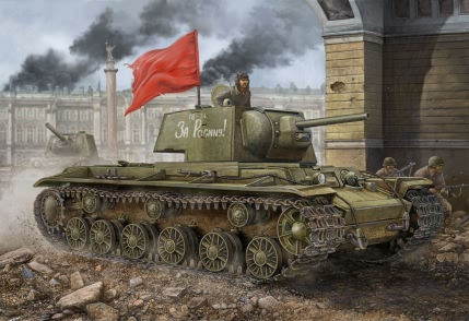 Модель Танк KV-1 (1941 Simplified Turret)