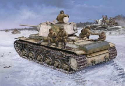 Модель Танк KV-1 (1942 Heavy cast Turret)