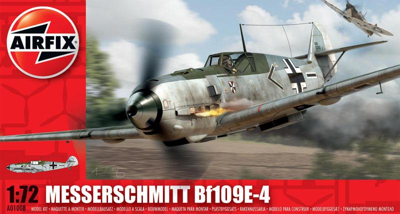 Модель Самолет Messerschmitt Bf109E