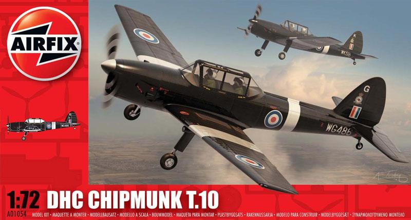 Модель Самолет DH CHIPMUNK