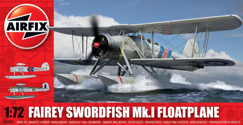 Модель Самолет SWORDFISH FLOATPLANE