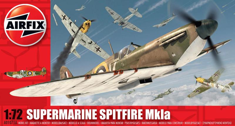 САМОЛЕТ SUPERMARINE SPITFIRE Mkla