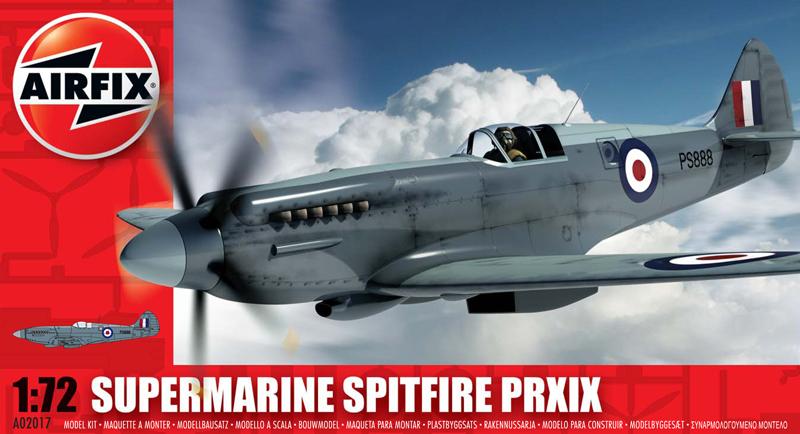 Модель САМОЛЕТ SUPERMARINE SPITFIRE PR.X1X