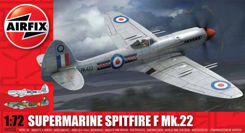 САМОЛЕТ SUPERMARINE SPITFIRE F22/2