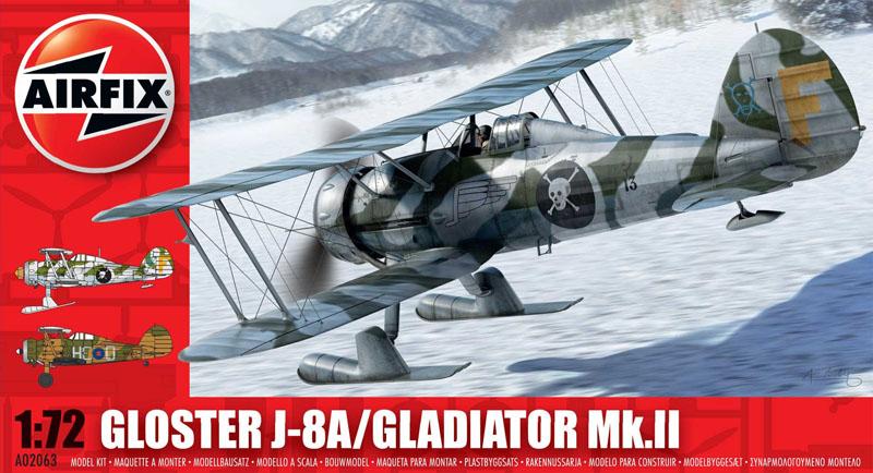 Модель САМОЛЕТ GLOSTER GLADIATOR Mkll/WIN
