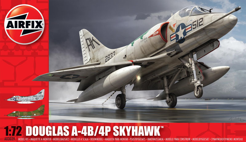 Сборная модель САМОЛЕТ DOUGLAS A-4 SKYHAWK
