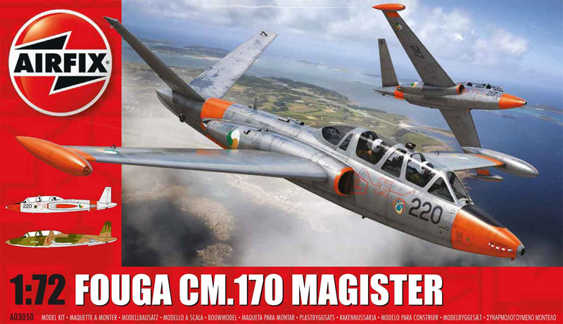 САМОЛЕТ FOUGA MAGISTER