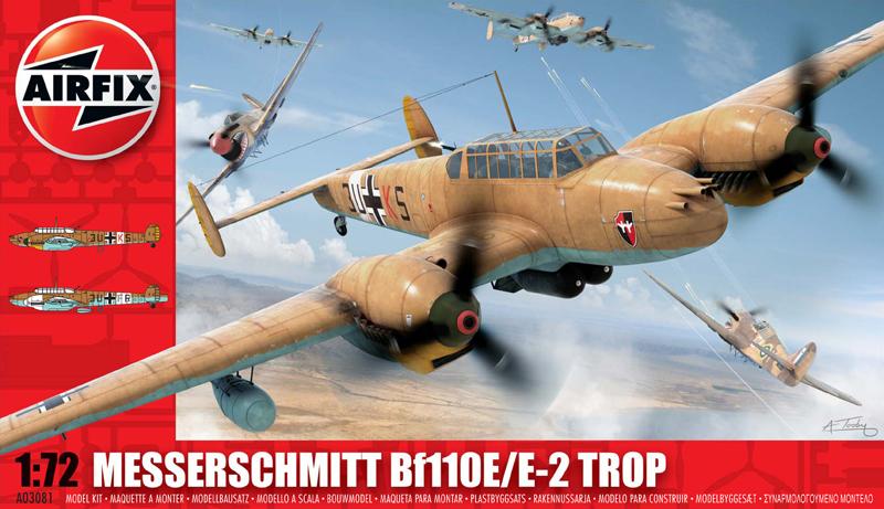 Модель САМОЛЕТ MESSERSCHMITT Bf110E
