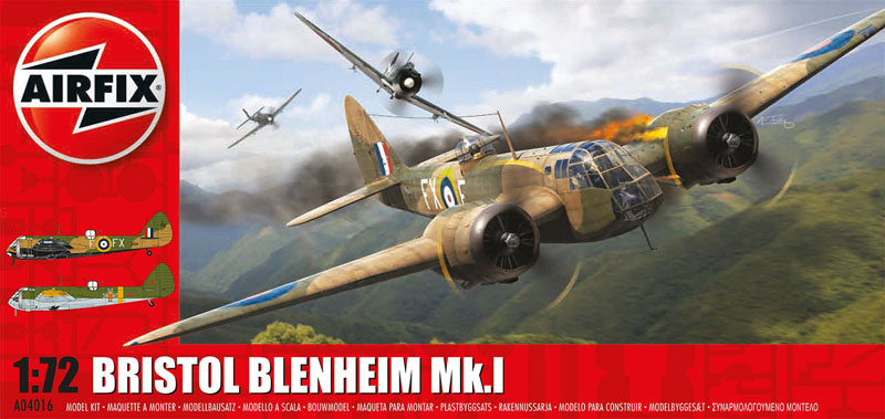 Модель САМОЛЕТ BRISTOL BLENHEIM MKI (BOMB