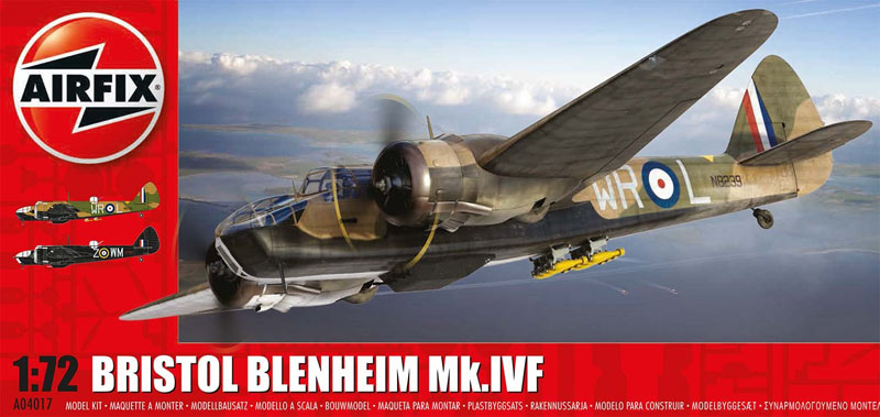 Модель САМОЛЕТ BRISTOL BLENHEIM MKI (FIGHTER)