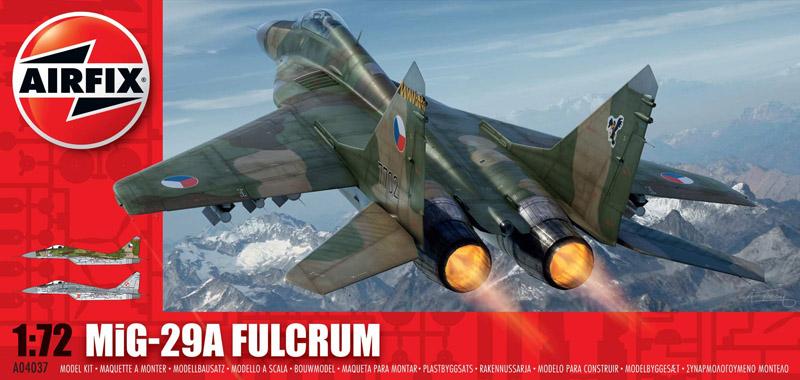 Сборная модель САМОЛЕТ MiG 29 FULCRUM