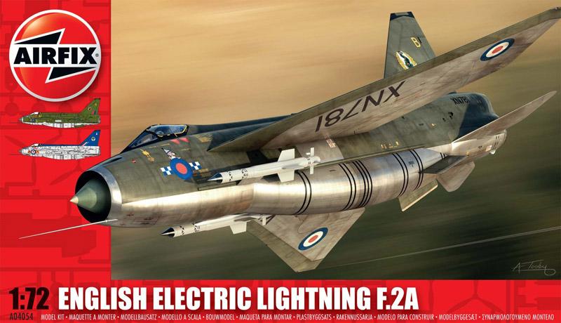 Модель САМОЛЕТ E E LIGHTNING F2A