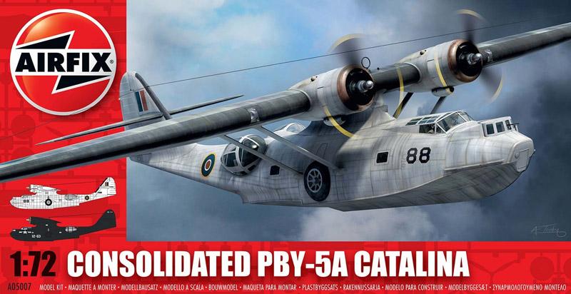 Модель САМОЛЕТ PBY 5A CATALINA