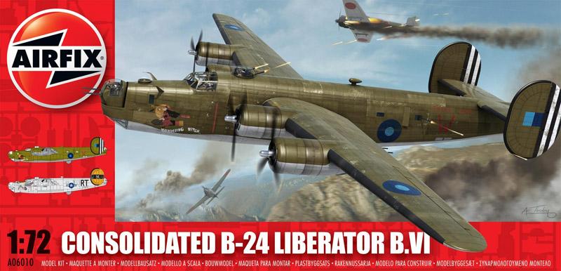 Сборная модель САМОЛЕТ B-24 LIBERATOR