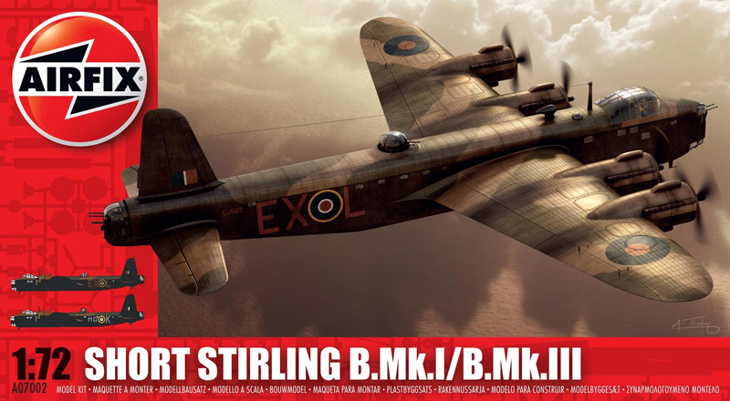 САМОЛЕТ SHORT STIRLING B1/11