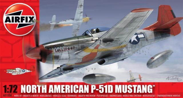 Модель САМОЛЕТ N.A. P-51D MUSTANG