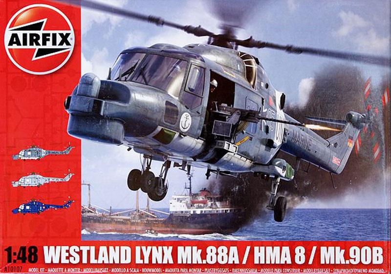 Сборная модель Вертолет Westland LYNX NAVY HMA8