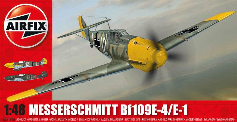 Модель Самолет MESSERSCHMITT 109Е-1/Е-3/Е-4