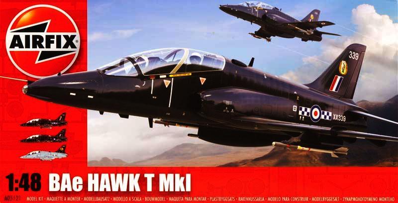 Сборная модель Самолет HAWK T1
