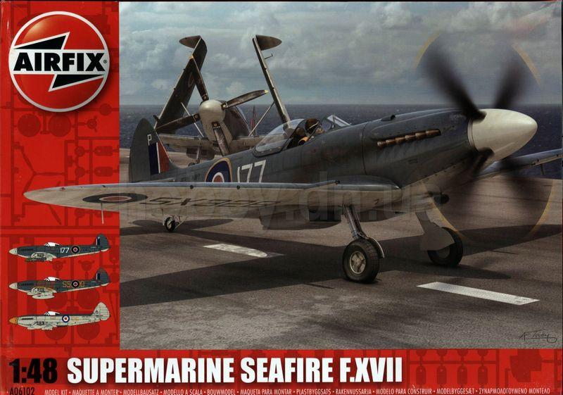 Сборная модель Самолет SEAFIRE XVII