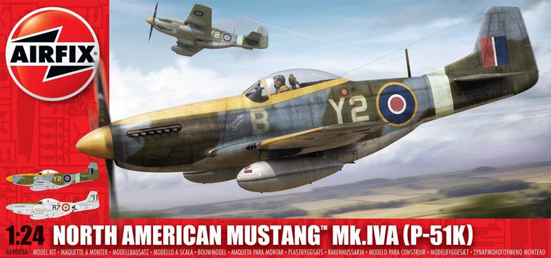 Сборная модель Самолет MUSTANG P-51 К