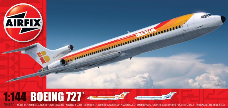 Сборная модель САМОЛЕТ BOEING 727
